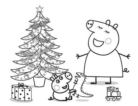 dibujos de navidad para colorear de peppa pig imagenes de peppa pig para colorear e imprimir