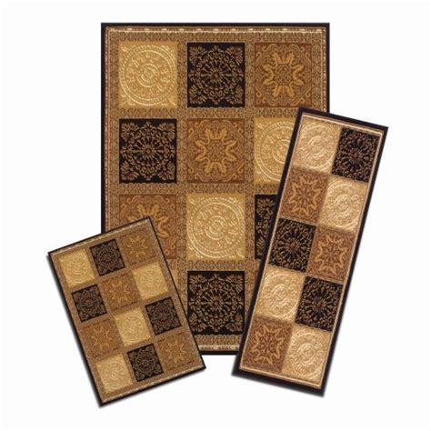 Apartment Rugs by Carpet Set Of 3 Rug Set Squares Mat Runner Rug