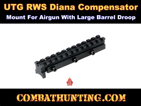mnt dn034 rws diana 34 36 38 45 with to5 trigger scope mount scope mounts