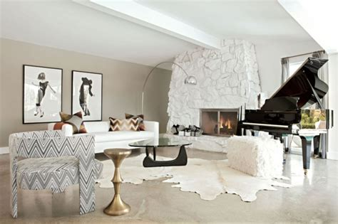 Fashionable Living Room Ideas by Decoraci 243 N Interior De Salas En Color Blanco Ideas Para