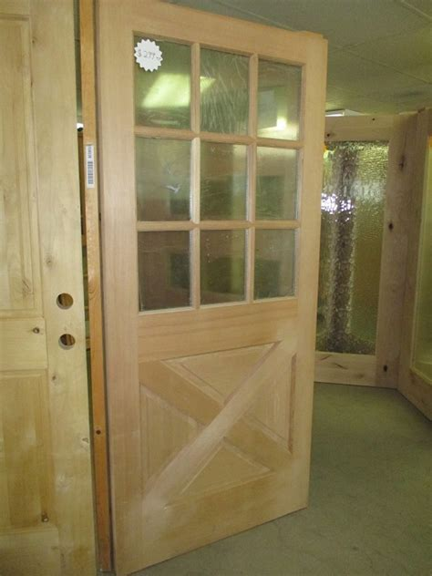 1/2 Lite Exterior Doors   Evergreen Floors and Doors