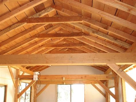 wood beam ceiling kitchen renovation