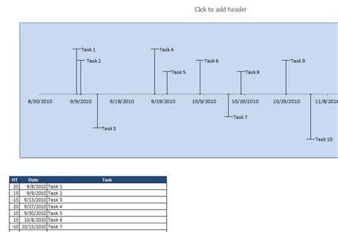 timeline template excel simple timeline spreadsheet my excel templates