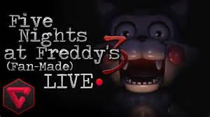 Five nights at freddy s 3 la mordida del 87 fan made live noche 3 4 5
