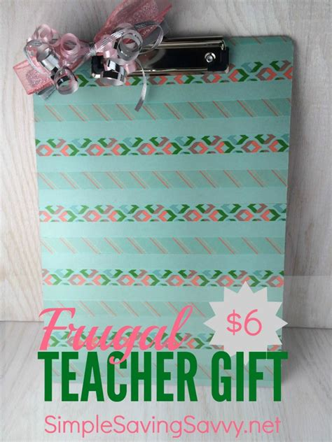 you have to see washi tape clipboard on craftsy diy washi tape clipboard frugal teacher gift simple