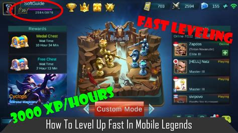 tutorial top up ilegal mobile legend how to level up fast in mobile legends youtube