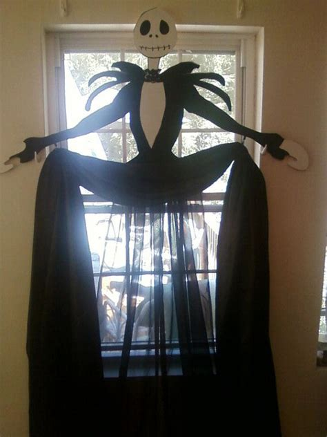 halloween door curtain halloween window curtains by cancreate on etsy 50 00