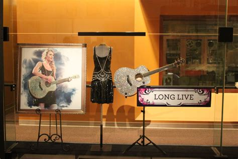 country music museum artists first look at taylor swift speak now treasures from the