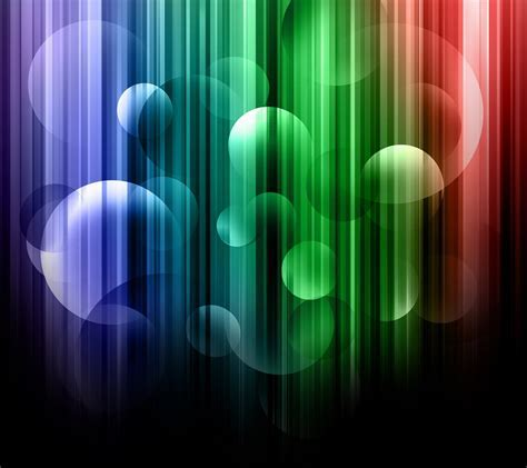 Spectrum Bubbles Android wallpaper HD