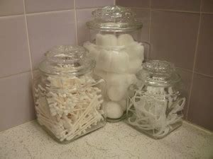 what to put in glass jars in bathroom part two old glass jars in the bathroom hall of fame moms