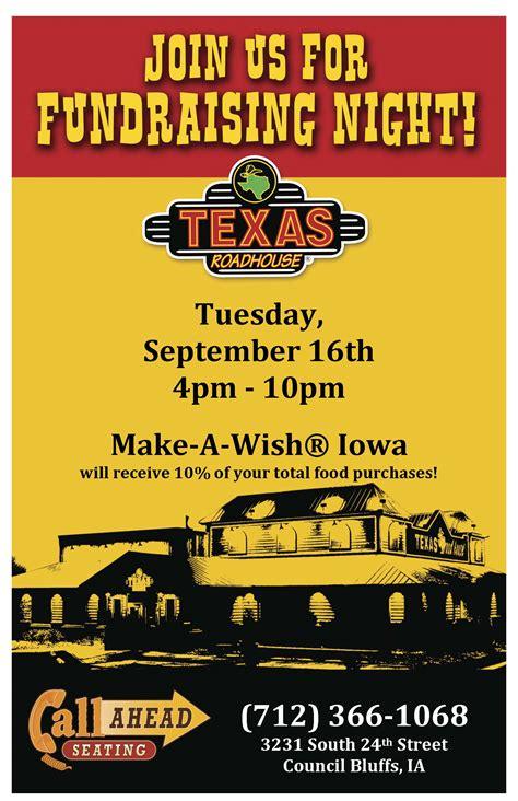 dine  donate  texas roadhouse calendar   news     iowa