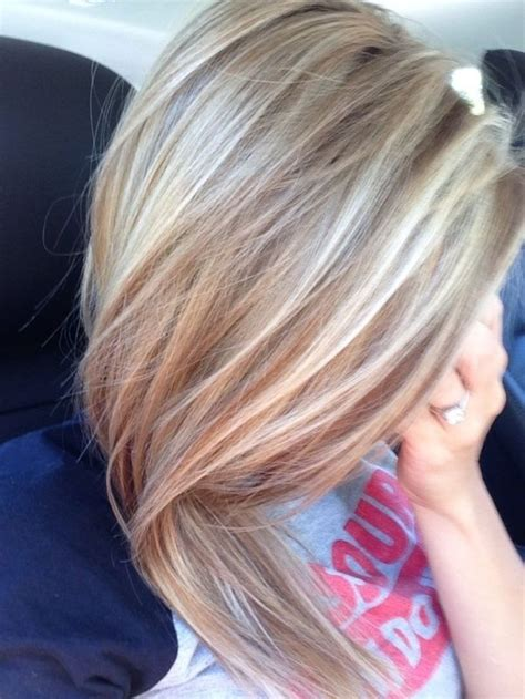 dark blonde with light blonde highlights 17 best ideas about cool blonde highlights on pinterest