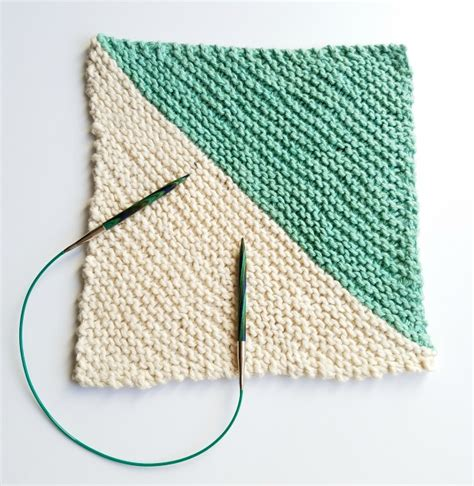 diagonal knit dishcloth pattern knitted dishcloth pattern diagonal dishcloth twisted