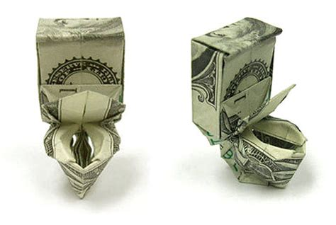 origami one dollar bill seawayblog 10 origami of aquatic animals folded with 1