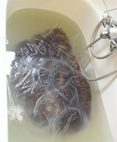 bathtub water bag spinning forth washing fleece