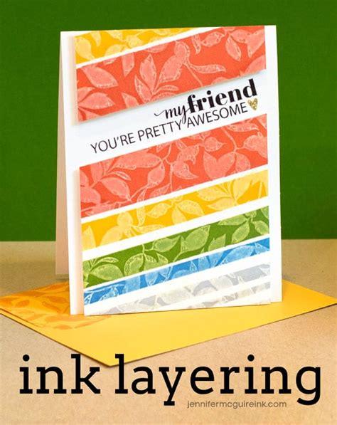 by jennifer mcguire ink video ink layering blog hop giveaway jennifer