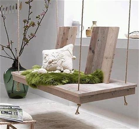 wooden swing bed diy pallet hanging bed pallets designs