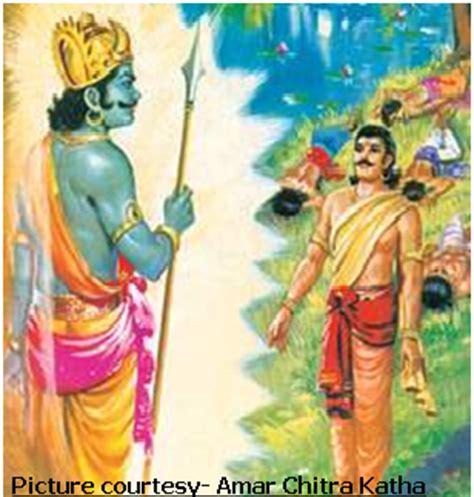 yudhisthira biography in hindi indian mythology yaksha prashna the quintessential