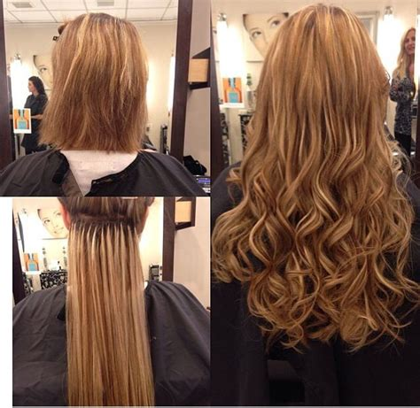 hairstyles with fusion hair extensions 10 best images about hair extensions on pinterest before