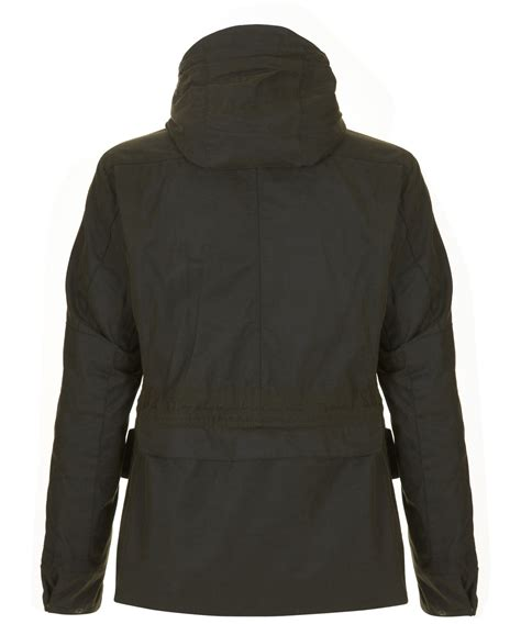 Jaket Bb Parka Vans By Dl Store barbour olive mountain parka wax jacket in green for