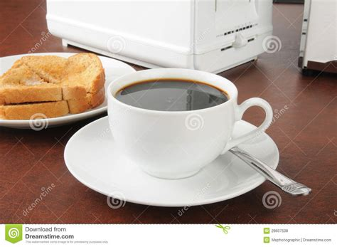 toast coffee house toast and coffee royalty free stock photos image 28607508