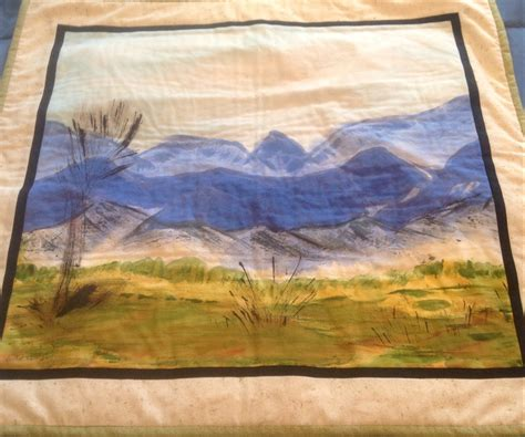 Landscape Fabric Usage To Use Painted Landscape Fabric As Quilt Wall