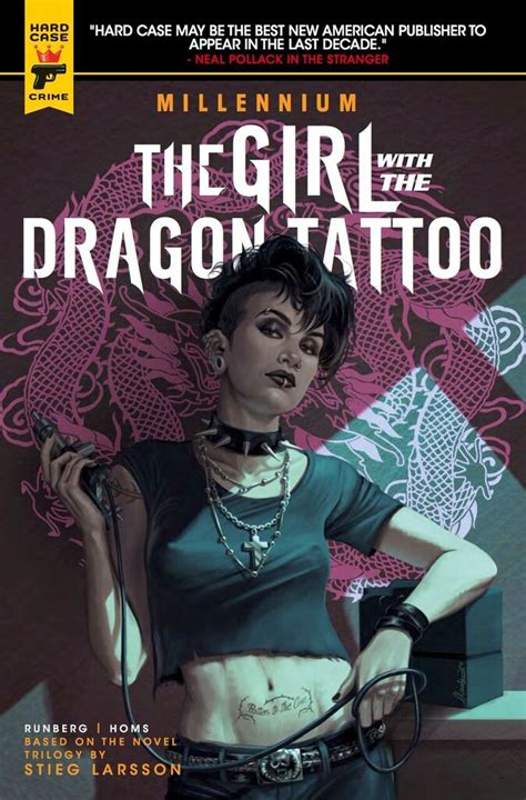 dragon tattoo book 4 comic book review the girl with the dragon tattoo