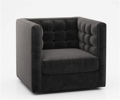 west elm rochester swivel chair swivel armchair s 231 swivel armchair with ottoman from de