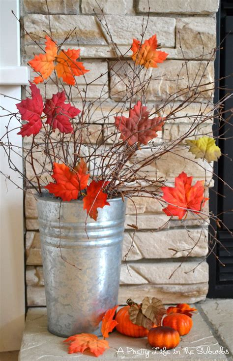 home made fall decorations 40 beautiful diy rustic decoration ideas for fall listing more