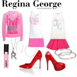 Regina george themed outfits themed outfits complete outfits funny