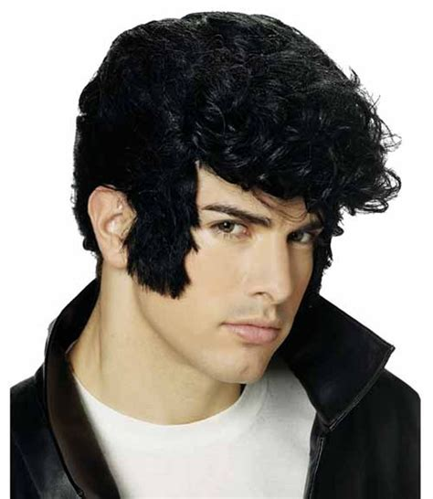 old photos of hair foil 1950 photos of hair foil 1950s greaser wig black 25 best