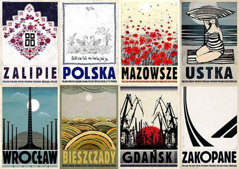 Plakat O Polsce by Polska Na Plakatach I To Jakich Niezwykła Seria Ryszarda