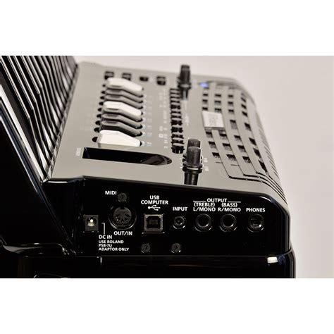 roland  accordion fr  bk tasten akkordeon