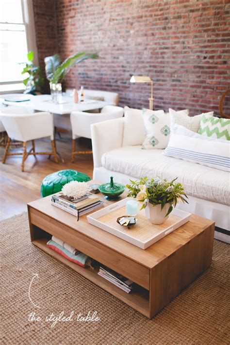 how to style a coffee table coco kelley coco