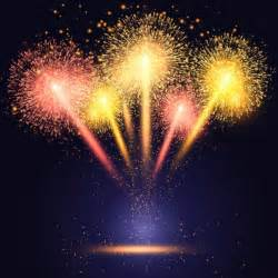 fireworks templates free celebration background with colourful fireworks vector