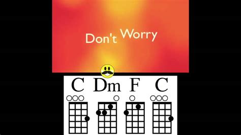 ukulele tutorial don t worry be happy don t worry be happy ukulele chord guide youtube