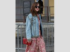 The Best Celebrity Bag Looks of Milan Fashion Week Spring ... M 2300 S