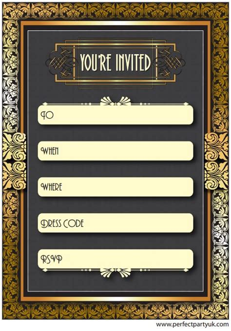 Pin By Shellie St Denis On Ideas For The Prom Gatsby Party Party Great Gatsby Party Great Templates
