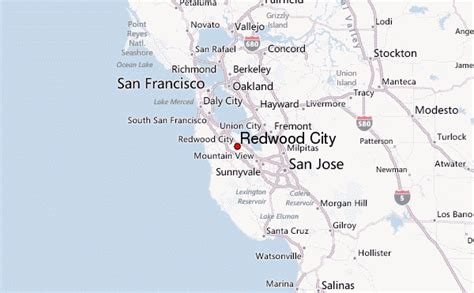 san francisco redwoods map redwood city location guide