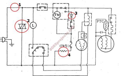 wiring diagram kulkas 2 pintu mitsubishi free