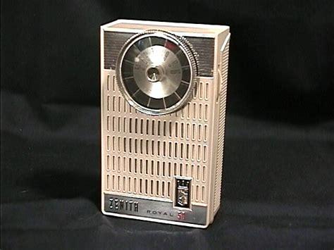 transistor radio zenith transistor radios