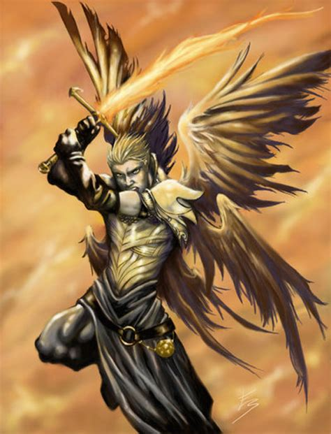 58 Angel Drawings Illustrations And Sketches Archangel Michael