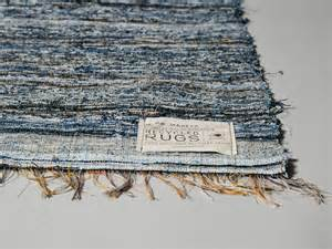 denim rug let s stay cool recycled denim rugs carpets