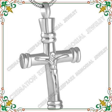 necklaces for humans cmj8541 jewellery cremation jewelry urns for human ashes jesus cross fashion