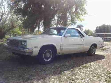 purchase used 1987 chevrolet el camino automatic cab