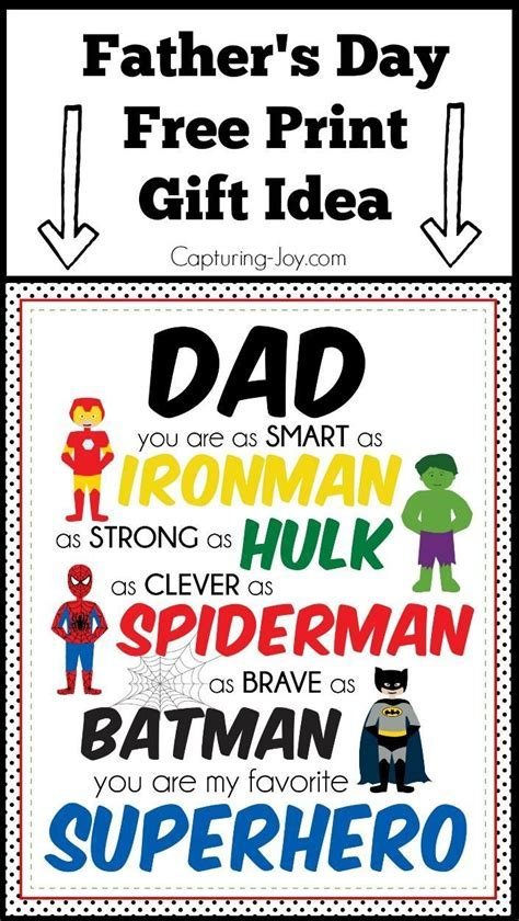 DIY Gifts : 17 Homemade Father's Day Gifts   Capturing Joy