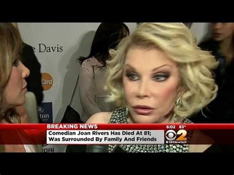 Joan Rivers Mourns The Passing Of by Fans Mourn Joan Rivers Upon News Of At 81