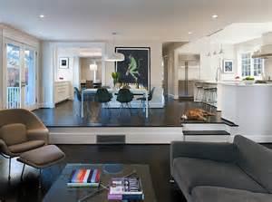 Split Foyer Floor Plans Sunken Living Rooms Step Down Conversation Pits Ideas Photos