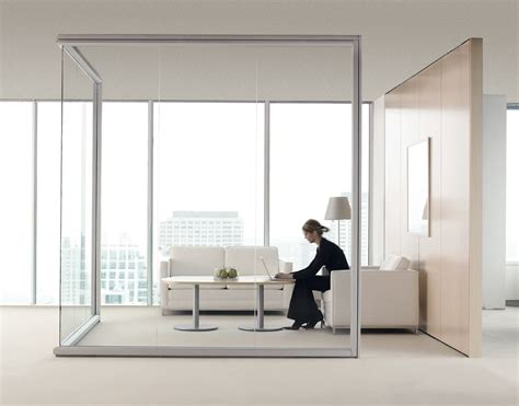 optos seamless glass walls  teknion arhitectural