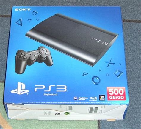 play station 3 slim 500 consoles sony play station 3 ultra slim 500gb go cech